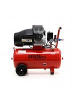 Eļļas kompresors 50L 2 virzuļi KD1479 + separators
