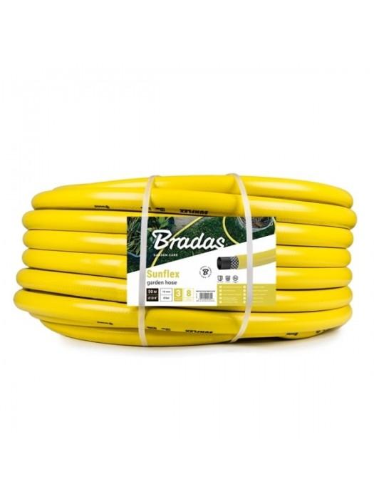 Dārza šļūtene SUNFLEX 1'-30 m, dzeltena