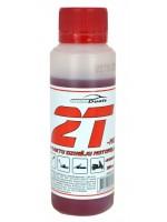 Autoduals pussintētiskā divtaktu eļļa motorzāģiem un trimmeriem, 100ml, zaļa un sarkana (2t01l)