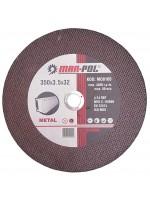 Atbrazīvais griežamais metāla disks 350x3.5x32mm (M08165)