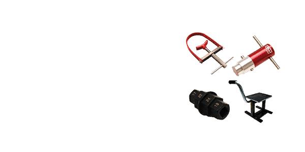 Instrumenti<br>motocikliem<br>velosipēdiem<br>skūteriem