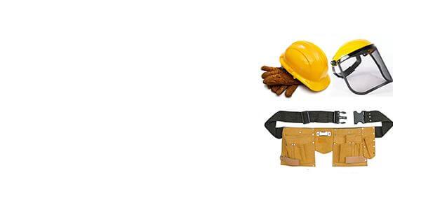 Darba apģērbi <br>aizsarglīdzekļi